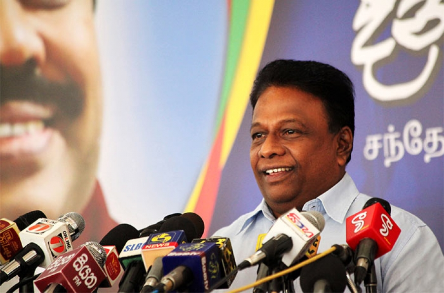 Dullas Alahapperuma Admits Opposition Not In A Position To Defeat ...