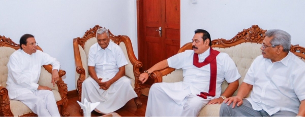 """No Politics Discussed During President Sirisena's visit To Medamulana Residence This Morning:"" MR's Aide"