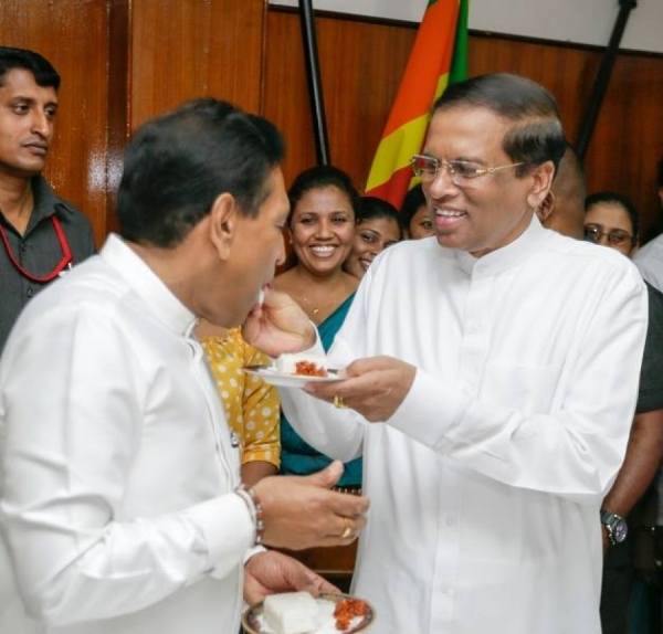 UNP Chairman Responds To President: Sirisena Responsible For All Collective Decisions Made By Unity Government