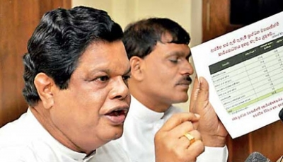 Bandula Gunawardena Says UNP Backbenchers Supported Opposition To Defeat Expenditure Heads Of Two Presidential Aspirants