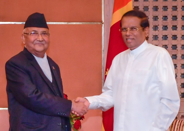 Sri Lankan President Meets Nepali Prime Minister: Discuss To Strengthen Bilateral Ties